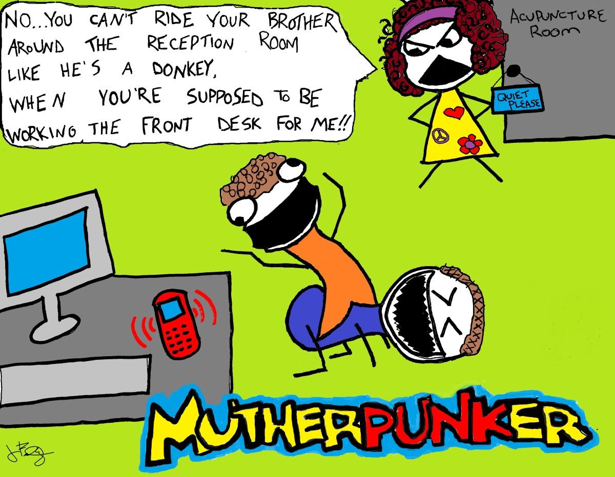 MUTHERPUNKER